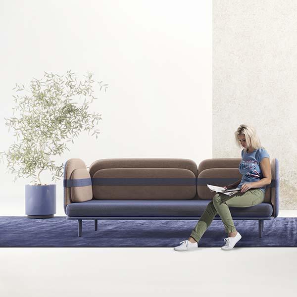 Bandage Sofa by Olga Bogdanova and Elena Prokhorova is Winner in Furniture, Decorative Items and Homeware Design Category, 2018 - 2019.