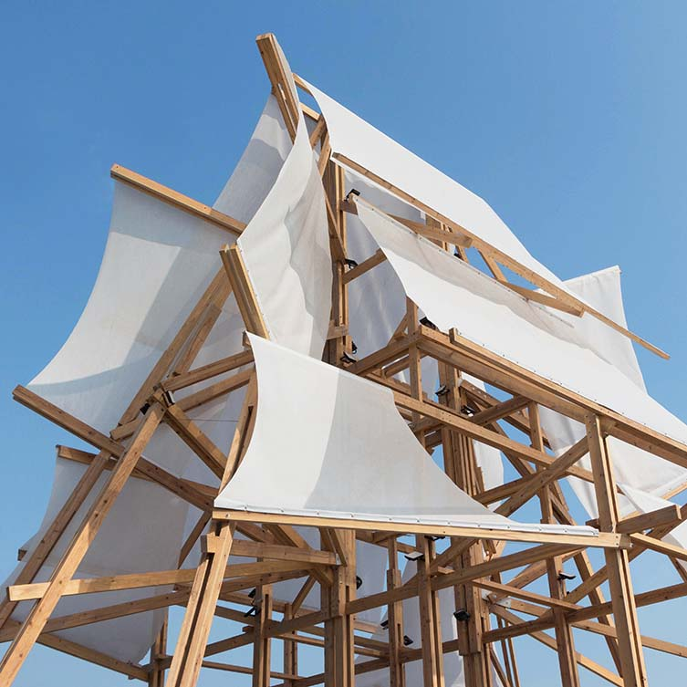 Sailing Castle Pavilion by Cheng Tsung Feng, Winner in Architecture, Building and Structure Design Category, 2018—2019.