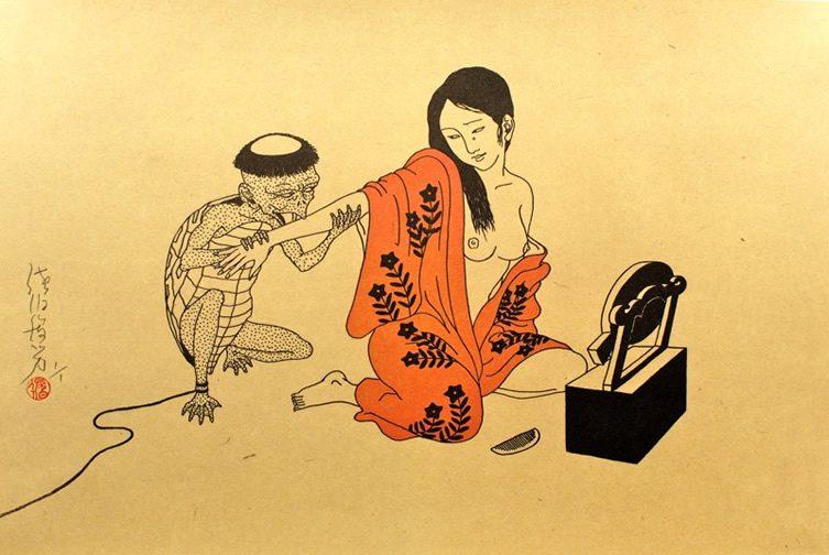 Toshio Saeki, The Print House Gallery