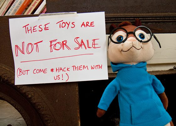 CommuniToy's Toy Hacking