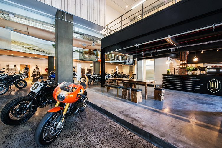 Tribe112 — Tribe Coffee Roasting at Donford BMW Motorrad, Cape Town