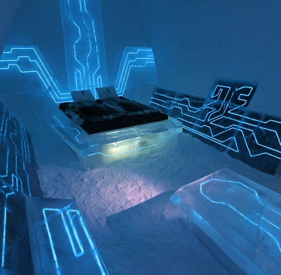 Tron: Legacy arrives at the ICEHOTEL