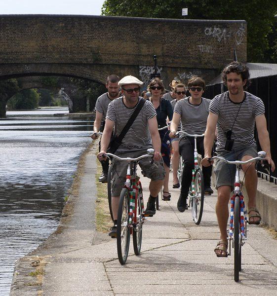 Les Bikes de Bois Rond, Gavin Turk