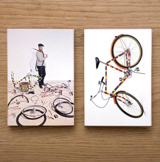 Les Bikes de Bois Rond Postcard Box Set