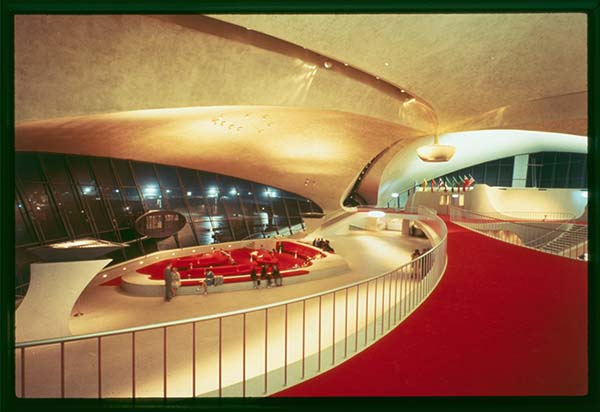 TWA Terminal Interior 1956—62, Photo by Balthazar Korab