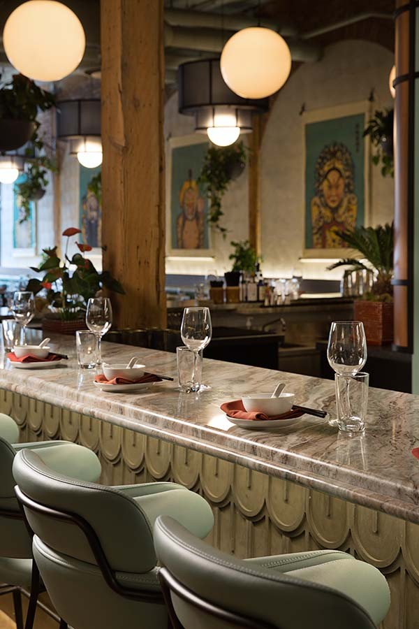 Two Penny Calgary Chinese Restaurant Designed by Sarah Ward Interiors
