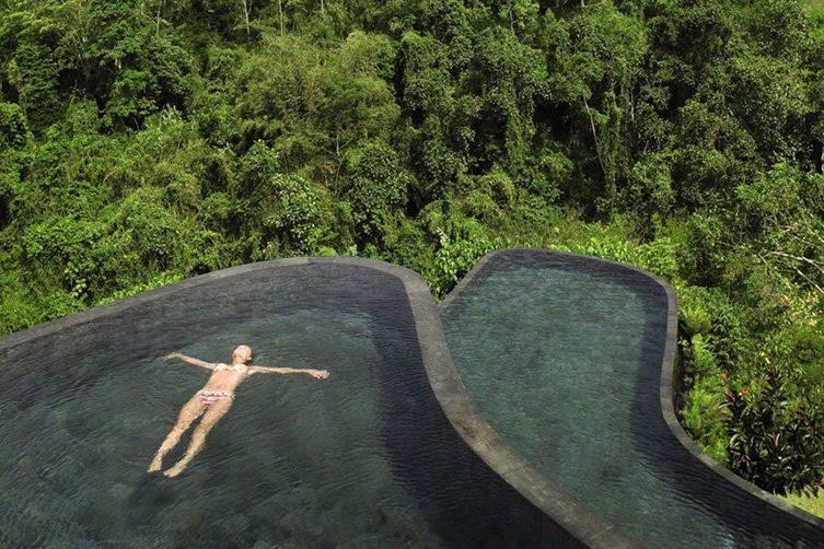 Ubud hanging gardens bali we heart for Ubud hanging gardens swimming pool price