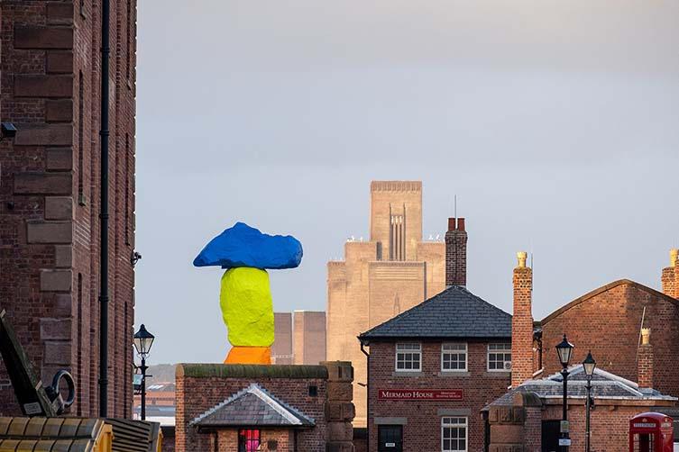 Ugo Rondinone, Liverpool Mountain for Liverpool Biennial and Tate Liverpool