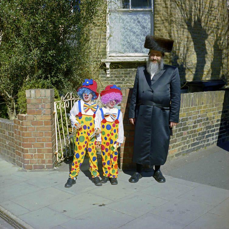 Stephen Leslie, Purim in Stamford Hill