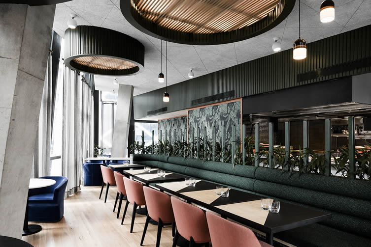 Untied Sydney, Barangaroo Restaurant by Technē Architecture + Interior Design