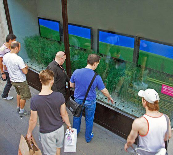 Urban Prairie; Interactive Shop Window