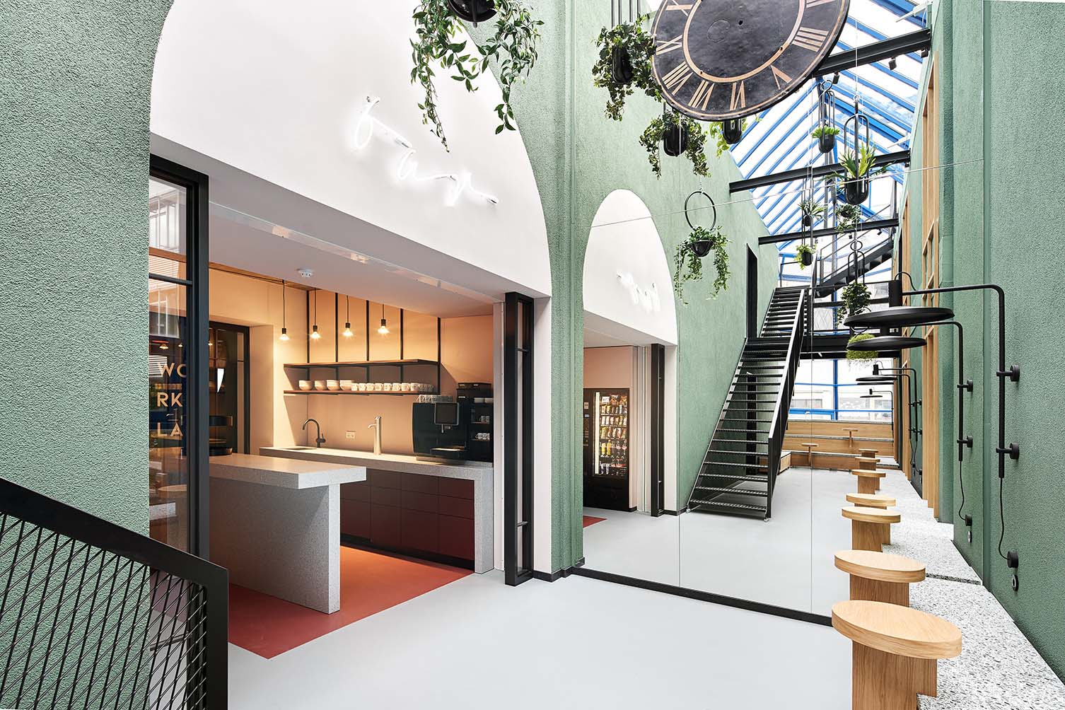 Urban Spaces Stuttgart Coworking Space Design by Studio Komo