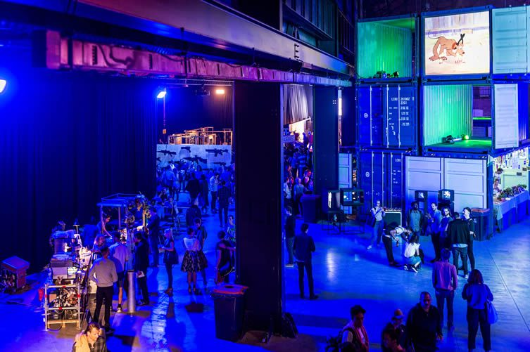 Us By Night Antwerp 2017: Creative Conference at Parkloods, Damplein 2, Antwerpen