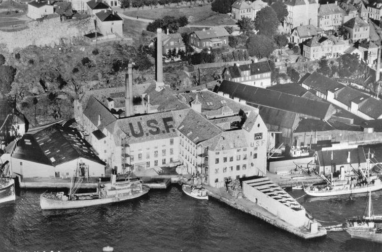 United Sardine Factories (USF) — Bergen
