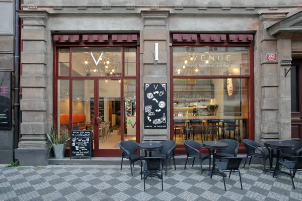 VENUE Prague, Martina Schultes-Designed Café