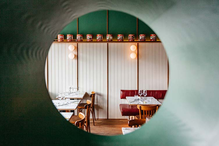 Vesta Montreal, Villeray Italian Restaurant Designed by Ménard Dworkind architecture & design
