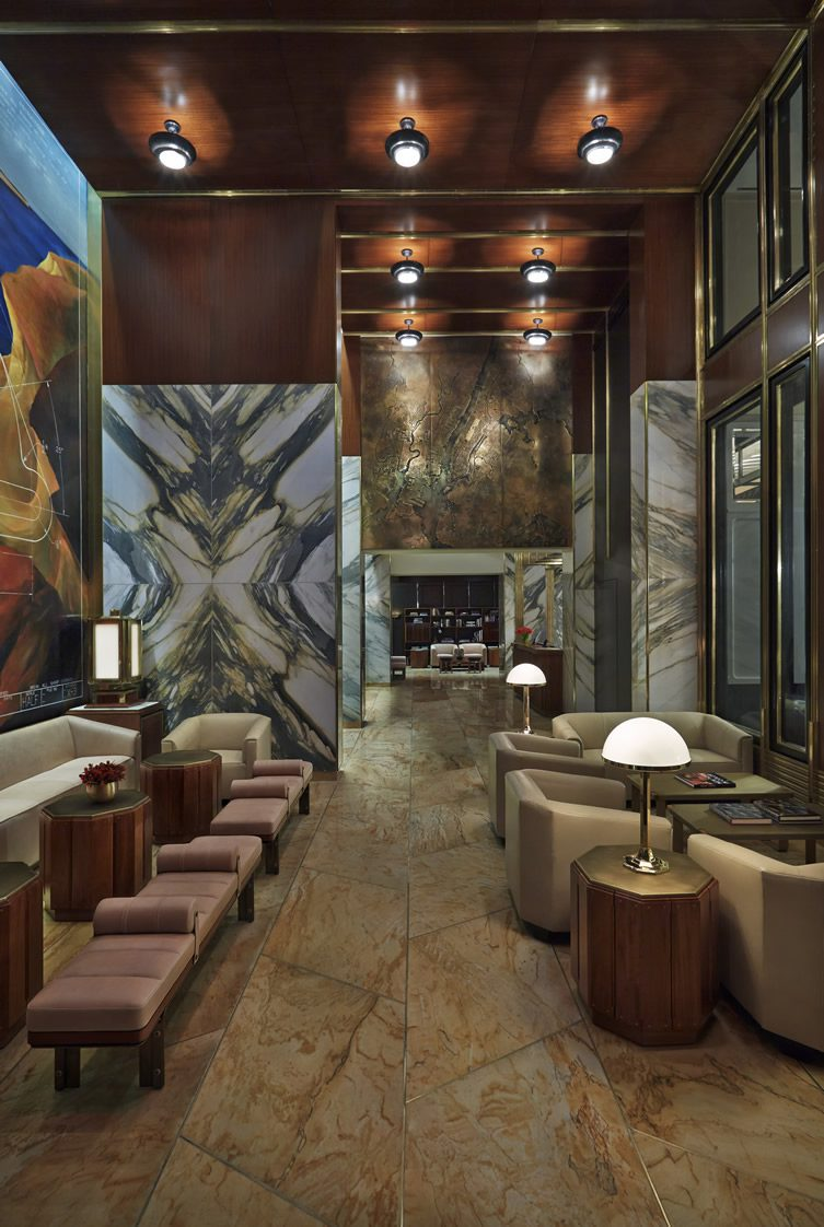 Viceroy new york new york for City hotel design