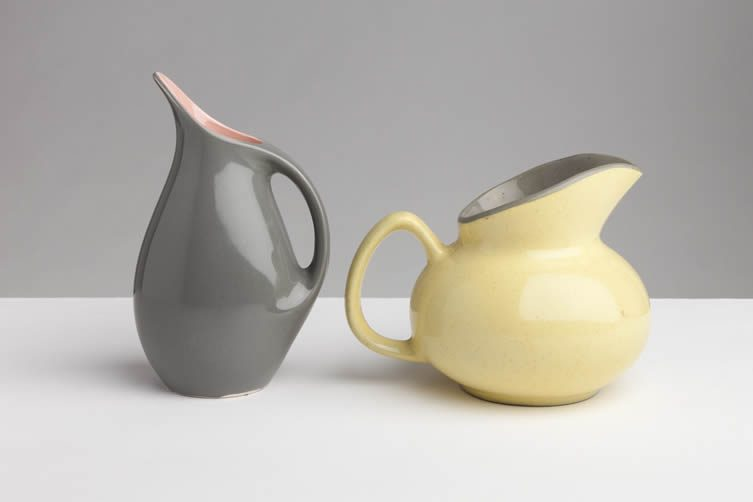 Vicky Thornton, Funny Shaped Jugs for Maggie's at Coexistence London