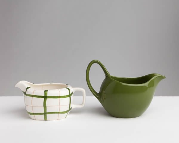 Vicky Thornton, Funny Shaped Jugs for Maggie's