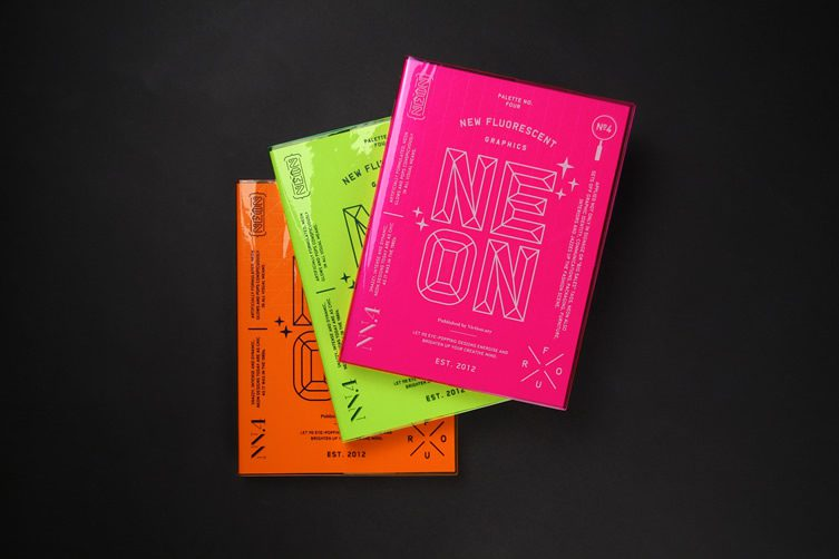 Palette No.4: Neon, New Fluorescent Graphics — Victionary