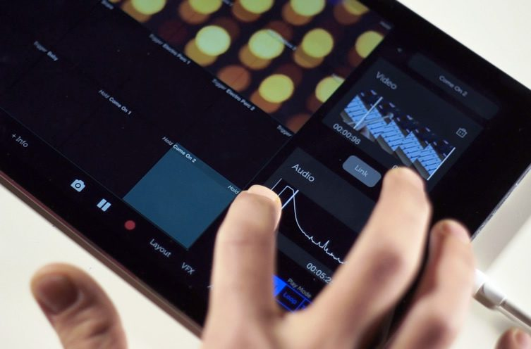 Vidibox — Real-Time Music and Video Mixing for iPad