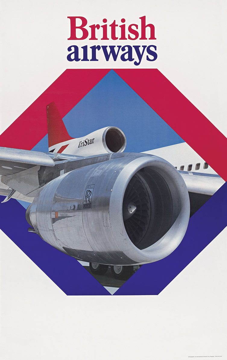 Vintage Airline Posters Visual Identity 1945 1975