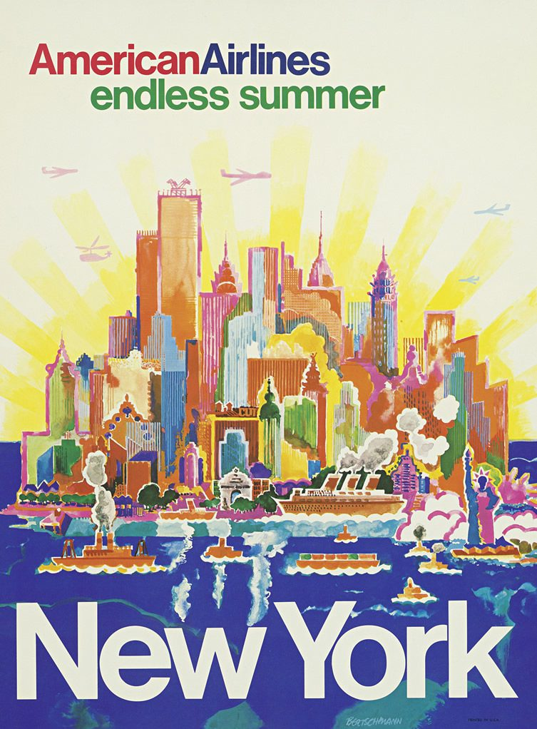 Vintage Airline Posters — Airline Visual Identity 1945 – 1975