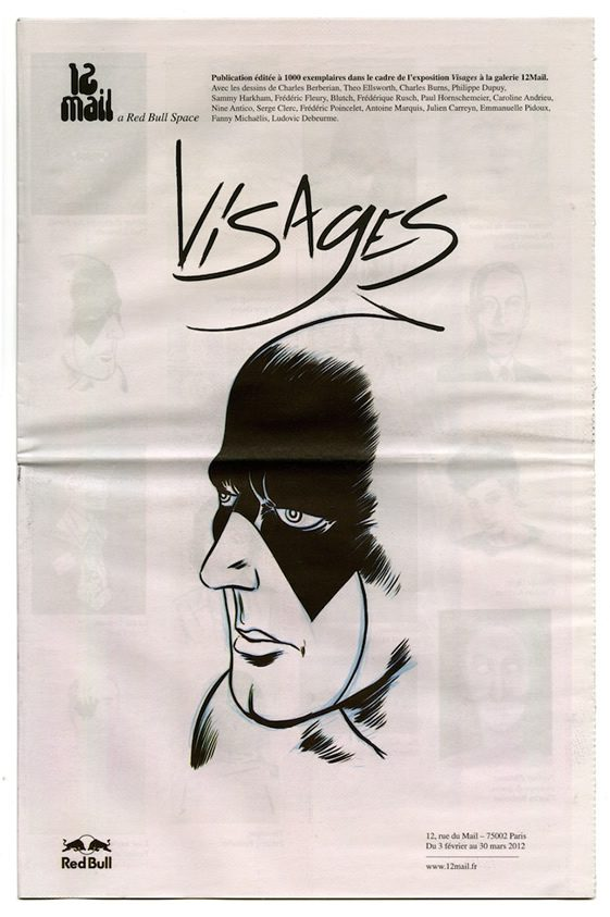 Visages at 12Mail, Red Bull Space