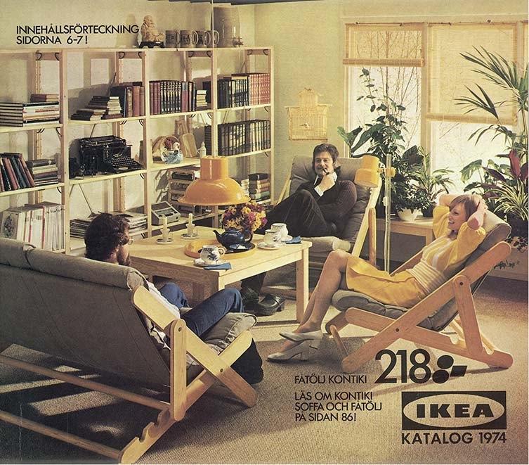 IKEA, Katalogcover, 1974