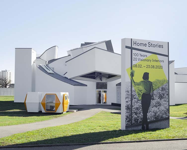 Home Stories: 100 Years, 20 Visionary Interiors at Vitra Design Museum, Weil am Rhein