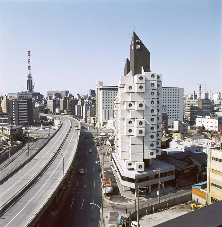 Kishō Kurokawa, Nakagin Capsule Tower