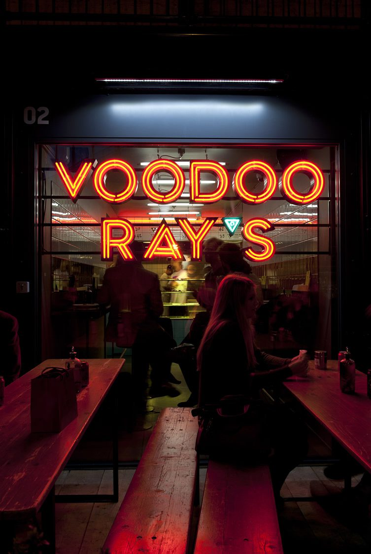 Voodoo Ray's Boxpark Shoreditch, London