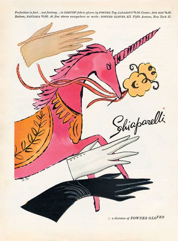 Andy Warhol for Schiaparelli