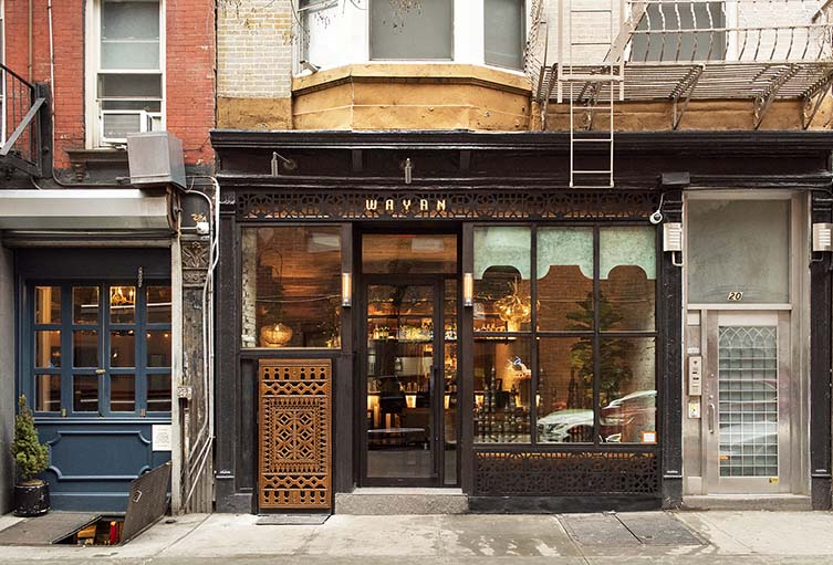 Wayan New York, Nolita Restaurant by Cedric Vongerichten Designed by Rockwell Group