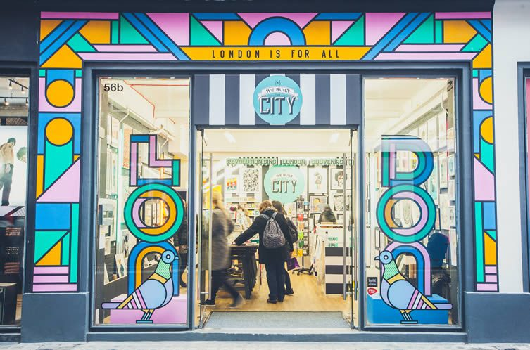 We Built This City​ x Supermundane, Carnaby Street London