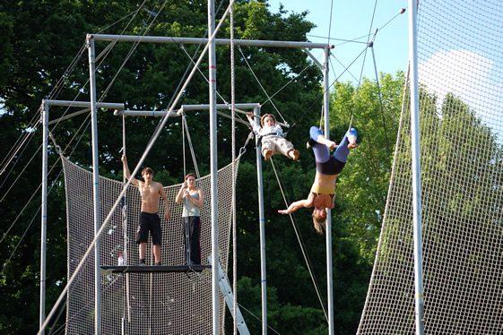 Gorilla Circus; Regents Park