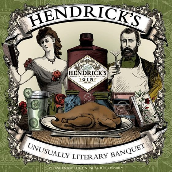 Hendrick's Unusually Literary Banquet