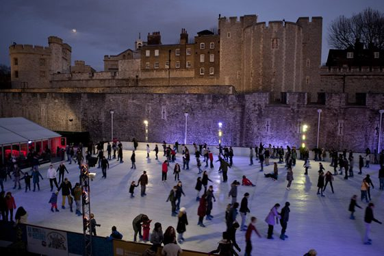 Ice at the Tower; Ice Rink