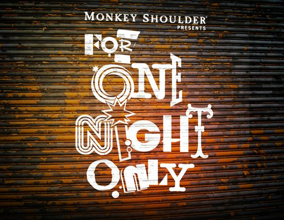Monkey Shoulder Presents For One Night Only; Jockey Club