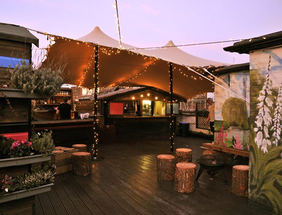 WigWamBam; Queen of Hoxton Rooftop Pop-Up