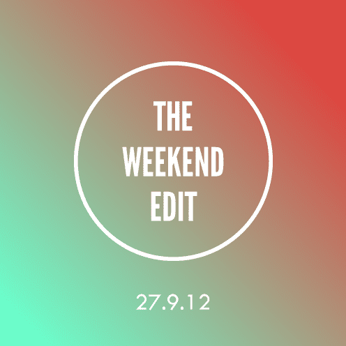 The Weekend Edit