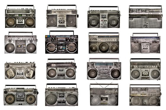 The Boombox by Lyle Owerko