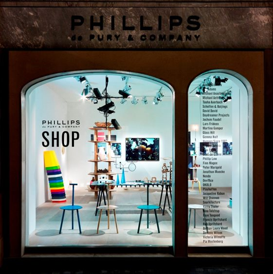 Phillips de Pury & Company Pop-Up Shop