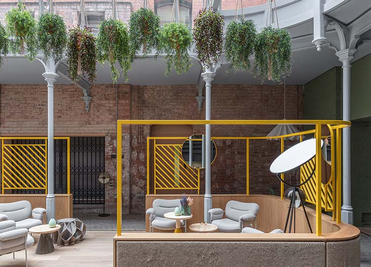 Whitworth Locke Manchester Design Hotel by Locke, designed by Grzywinski+Pons