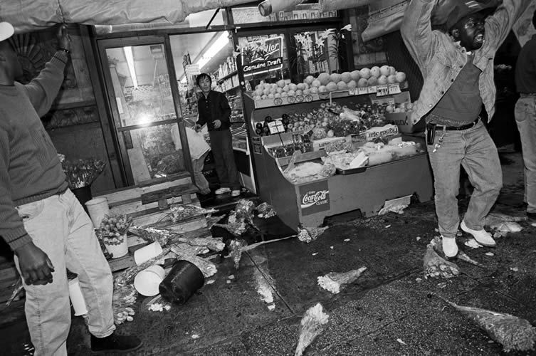 Rodney King riots New York City