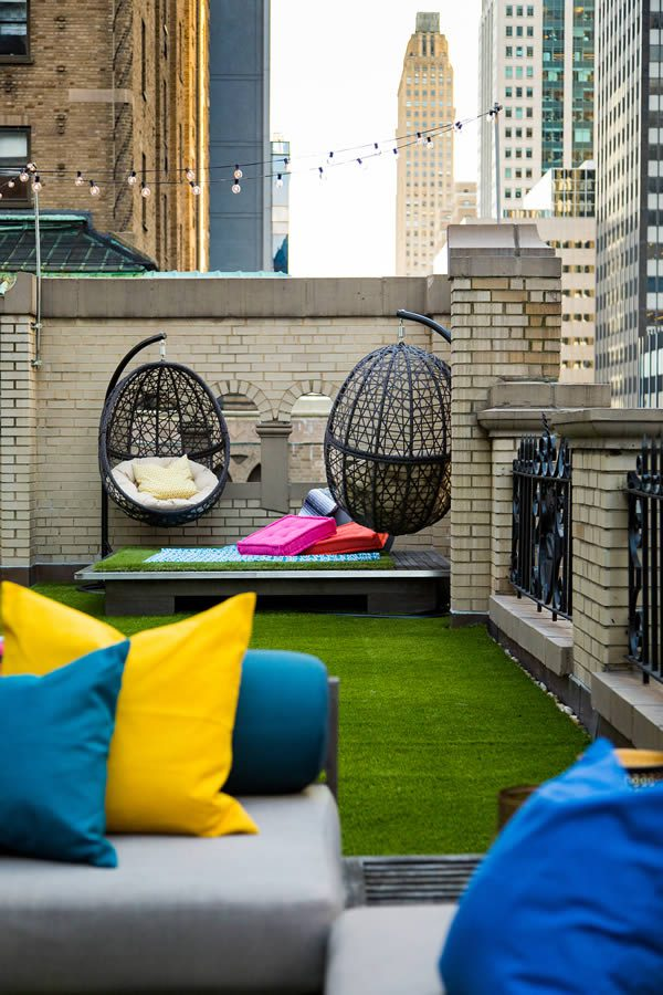 W Hotel New York Glamping Suite