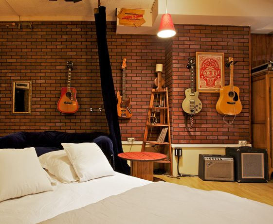 Sleep in a Recording Studio