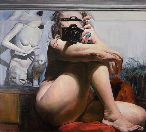 Joan Semmel, Centered, 2002