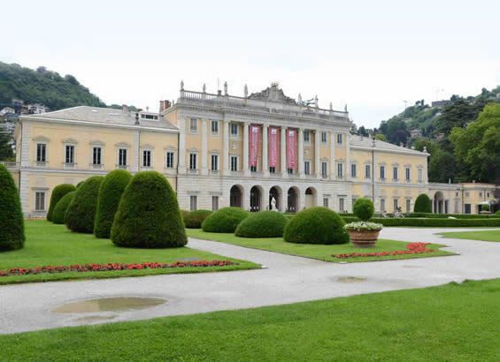Villa Olmo, the extravagant Lake Como venue for the A' Design Award Gala-Night