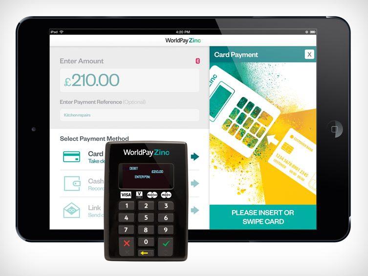 WorldPay Zinc Chip & PIN Keypad